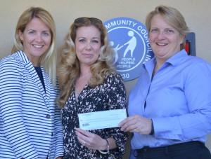 Needham Womens Club donation. 2014 Wine Tasting Event